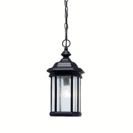 4d3682757e1 Image Unavailable. Image not available for. Color  Kichler 9810BK Kirkwood  Outdoor ...