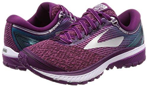 1b511 Scarpe Da 10 purple teal Brooks pink Viola Running Ghost Donna qw6E4