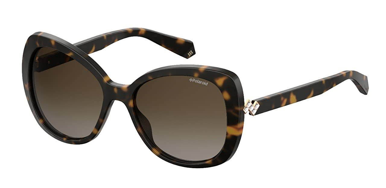 Amazon.com: POLAROID SUNGLASSES PLD 4063 086 LA DARK HAVANA ...