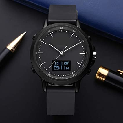 Amazon.com: YUHEJUNJING Smart Watch Mens Waterproof Fashion ...