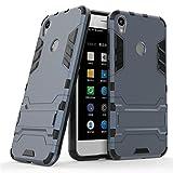 Qiku 360 N5s Case,360 N5s Cover,Find box [Slim] Dual Layer Hybrid Rugged Hard PC and TPU Soft Silicone Full Body Protective Case Shell kickstand Case Cover For Qiku 360 N5s (Deep Blue)