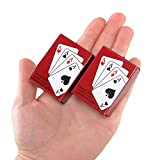 Poker Playing Cards Mini Traveling Decks Cards 2 Pack by Sago Brothers