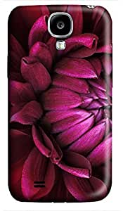 fashion Samsung S4 cases Red Flower Natures 3D cover custom Samsung S4