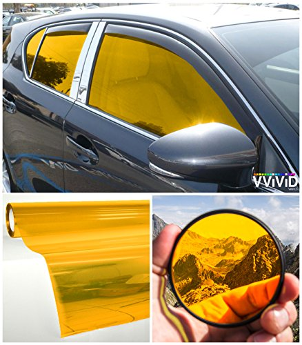 - VViViD Colorful Transparent Vinyl Car Window Tinting 30