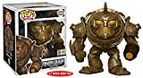 Dwarven Colossus (2017 Summer Con Exclusive): Funko Deluxe POP! Games x The Elder Scrolls Online - Morrowind Vinyl Figure + 1 Video Games Themed Trading Card Bundle (14333)