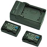 MP power ® 2X Remplacement Batterie FH50 FH-50 FH-40 FH40 H-TYPE 1080mah 7,4V + chargeur pour Sony DSLR A230, A290, A330, A380, A390, Cybershot DSC-HX1, DSC-HX100V, DSC-HX200V Digital Camera & caméscope Handycam HDR Series HDR-XR105, XR200, XR500, XR520, SR5, SR7, SR8, SR10, SR11, SR12, CX6, CX11, CX505, CX520, CX105, TG3, UX3, UX7, UX19, HC3, HC5, HC7, HC9 + DCR-SR30, SR32, SR33, SR35, SR37, SR50, SR52, SR55, SR57, SR70, SR72, SR75, SR77, SR90, SR190, S210, SR290, SX30, SX50, DCR Series DCR-DVD92, DVD105, DVD106, DVD109, DVD110, DVD150, DVD202, DVD203, DVD205, DVD304, DVD306, DVD310, DVD403, DVD404, DVD405, DVD406, DVD410, DVD450, DVD505, DVD506, HC18, HC19, HC20, HC22, HC24, HC27, HC30, HC32, HC35, HC37, HC39, HC40, HC42, HC44, HC45, HC46, HC47, HC51, HC62, HC85, HC94, HC96, SR45, SR46, SR65, SR85, SX33, SX45