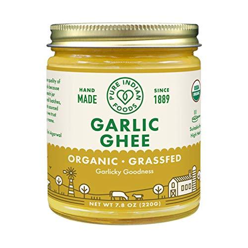 Garlic Ghee Grassfed Certified Organic product image