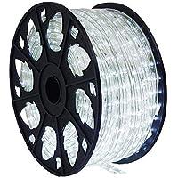 30m 720 LED Lichterschlauch Lichtschlauch weiß – Innen- und Außenbereich – energiesparende Leucht-Dekoration für Garten Fest Weihnachten Hochzeit