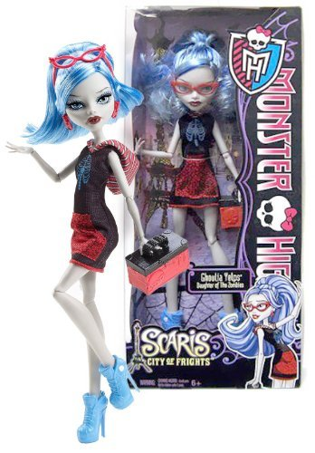 Ghoulia Yelps: Daughter of The Zombies ~10.5″ Monster High Scaris – City of Frights Figure, Baby & Kids Zone