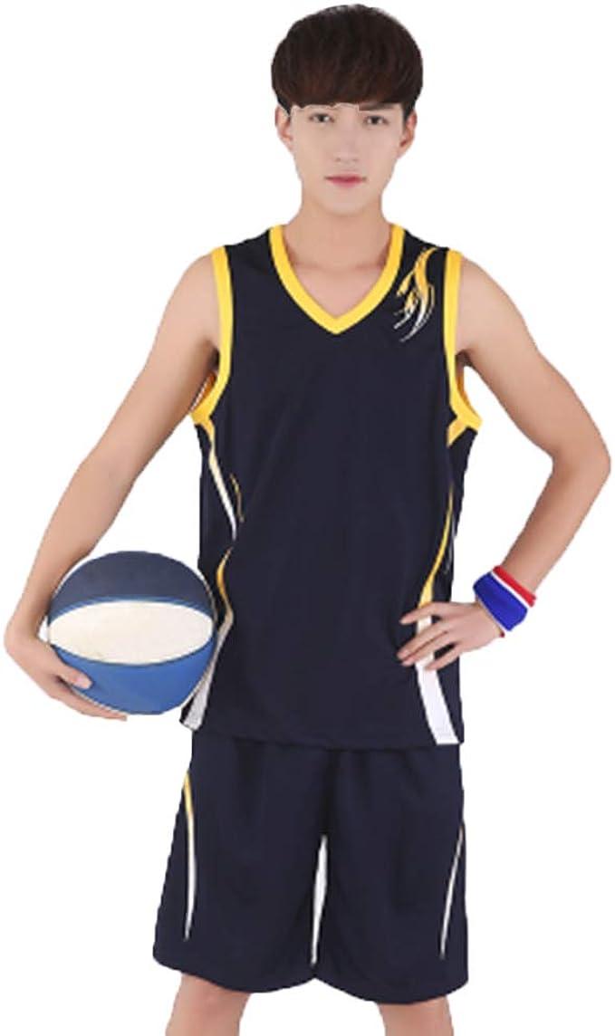 MHDE Hommes Enfants Throwback Basketball Formation Jersey