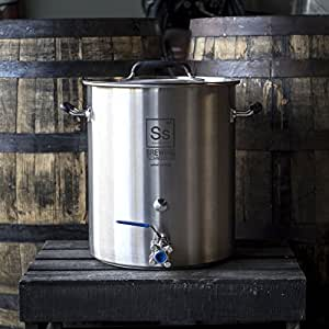 Ss Brewing Technologies 10 Gallon Stainless Steel Brew Kettle