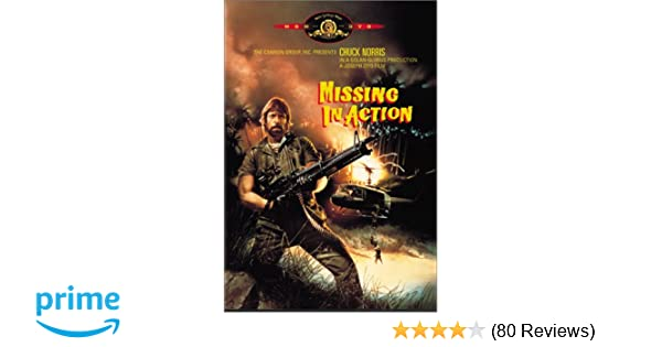 missing in action 1984 rating