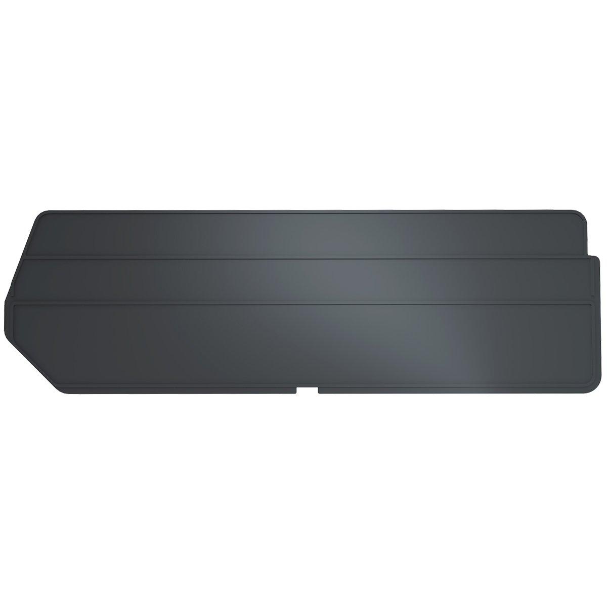 Akro-Mils 40234 Lengthwise Divider for 30234 AkroBin, Black, 6-Pack