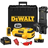 DEWALT DW079KI 18-Volt Cordless XRP Self-Leveling Interior Laser