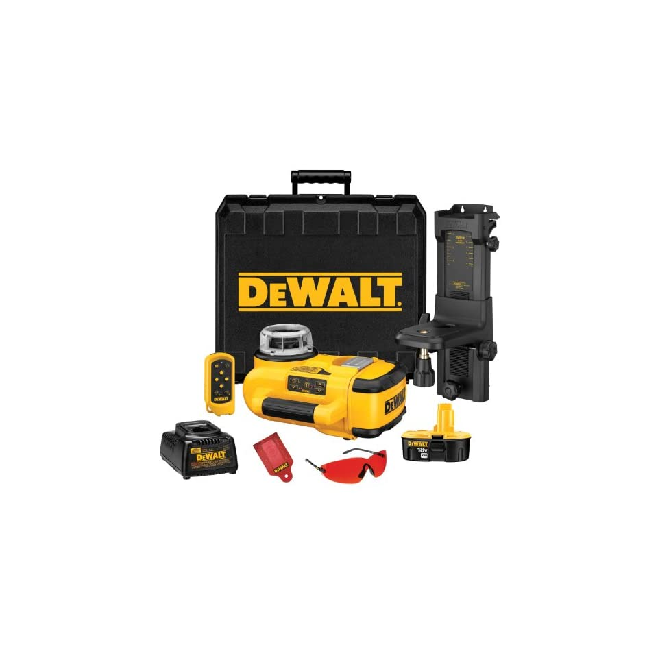 DEWALT DW079KI 18 Volt Cordless XRP Self Leveling Interior Laser