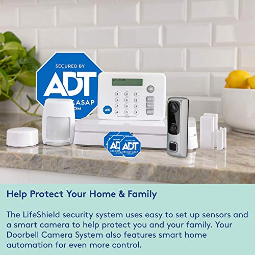 HD Video Doorbell Camera System from LifeShield, an ADT ...
