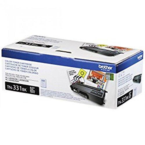 Brother TN331BK, TN331C, TN331M, TN331Y (TN-331BK, TN-331C, TN-331M, TN-331Y) Black, Cyan, Magenta and Yellow Toner Cartridge Set