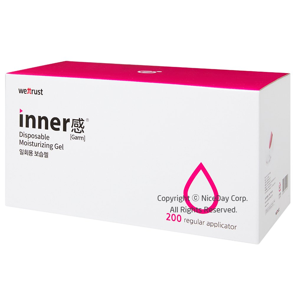 Wettrust Pro Innergarm Inclear Lubricant Gel For Sex Disposable Syringe Type (200)