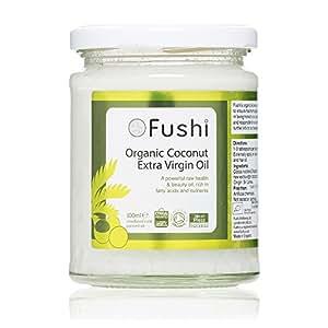 Fushi Extra Virgin Sri Lankan Coconut Oil 250g/300ml, Organic Cold Pressed