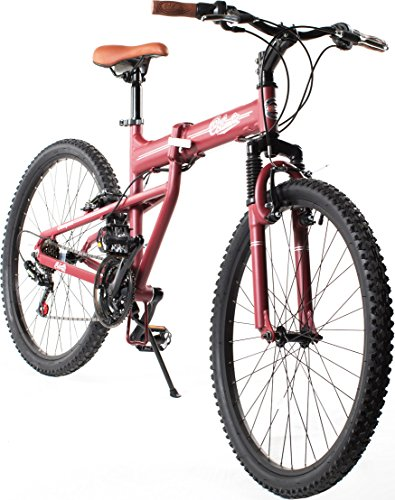 Columbia Bicycles Compax 26'' Men's 21-Speed Folding Mountain Bike, 18''/One Size by Columbia Bicycles (Image #4)