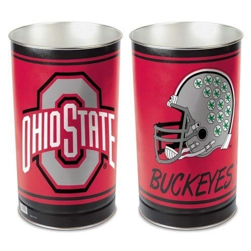 State Ohio Wastebasket - NCAA Ohio State Buckeyes Tapered Wastebasket