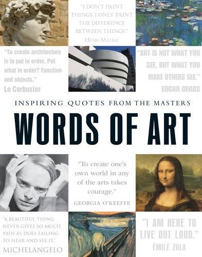 Words of Art: Inspiring Quotes from the Masters by Adams Media