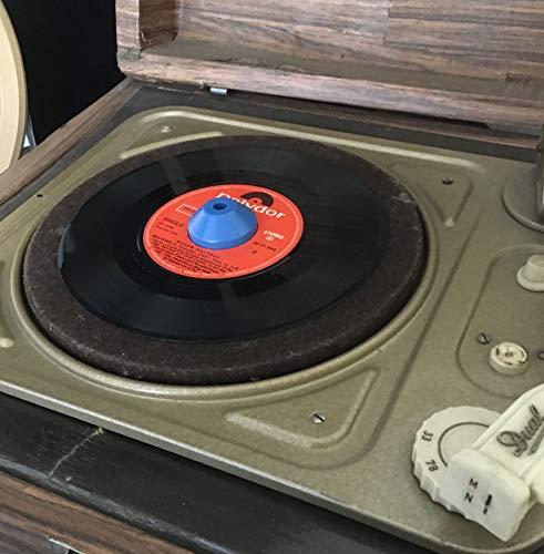 Adaptador Centrador para discos de vinilo en el tocadiscos ...
