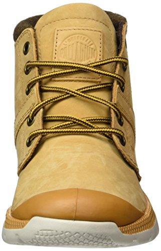 Palladium Damen Pallaville Dbl Cuff Combat Boots Gold (280)