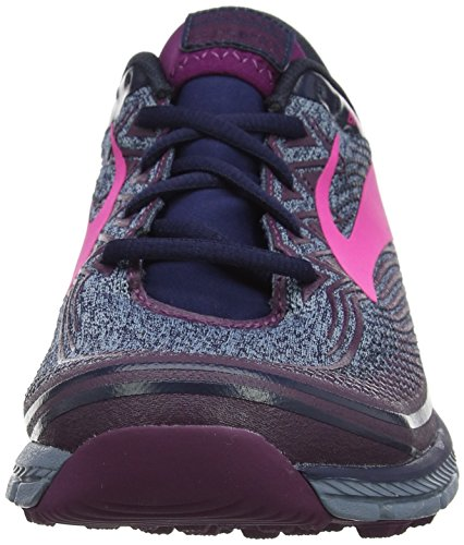 Puregrit 6 Multicolore plum Scarpe navy Da Trail pink Running Donna Brooks adwP5qxa