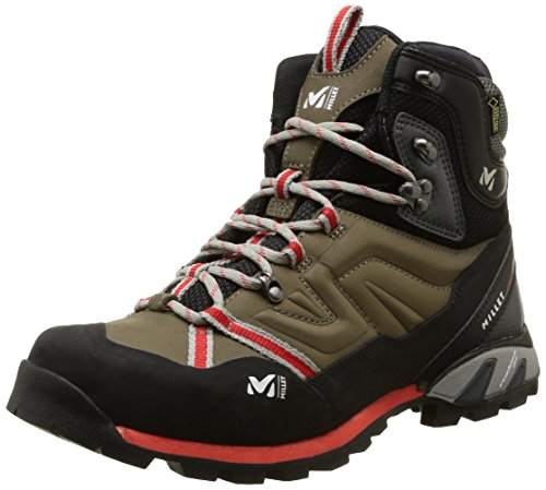 MILLET High Route, Scarpe da Escursionismo Uomo Multicolore (Faint Brown/Red)
