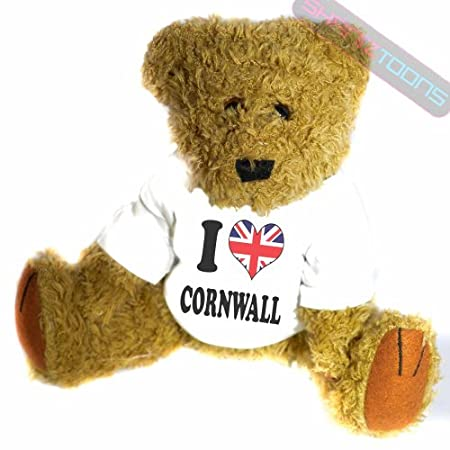 shaniztoons I Love Cornwall Gift Teddy Bear 51GGHXsD 2BHL