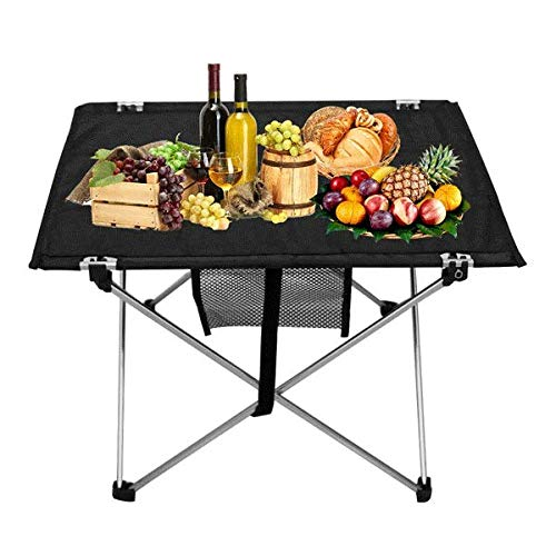 LYEJM Portable Folding Picnic Barbecue Table Light Weight Foldable Desk Multifunction Home Furniture LYEJM