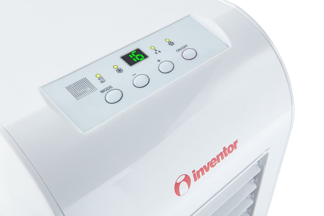 Inventor Cool Aire Acondicionado portátil, 3 en 1, 2022 frigorías/8.000 BTU/h (2 años de garantía): Amazon.es: Hogar