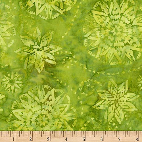 Timeless Treasures Tonga Batik Mandarin Grove Dream Apple Fabric Fabric by the Yard