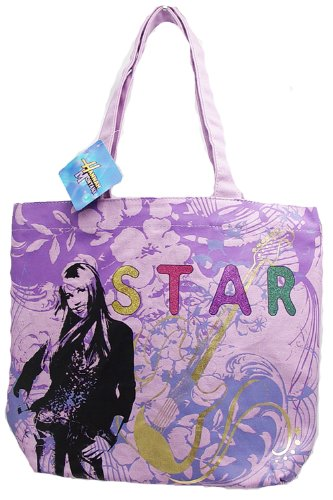 Hannah Montana Secret Pop Star Large Backpack and Wallet Set