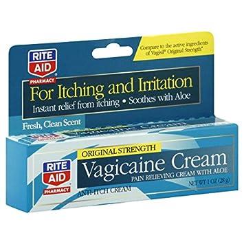 amazon com rite aid pharmacy vagicaine cream original strength 1