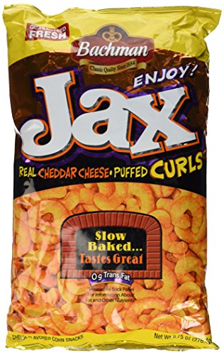Bachman Jax Cheddar Cheese Puffed Curls 9.75 Oz (Pack of - Outlets Jax