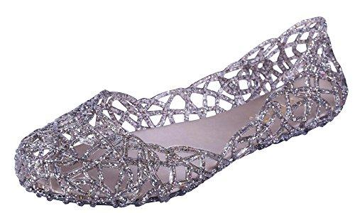 glaze-womens-cutout-glitter-jelly-round-toe-ballet-flats-8-bm-us-pewter
