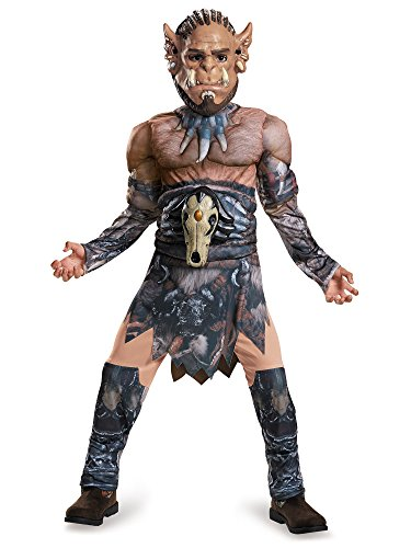 [Disguise Durotan Classic Muscle Warcraft Legendary Costume, Small/4-6] (Halloween Costumes For 4 People)