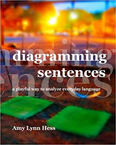 Diagramming sentences a playful way to analyze everyday language diagramming sentences a playful way to analyze everyday language amy lynn hess 9781495336744 amazon books ccuart Choice Image