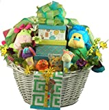 Snuggle Safari, Large Baby Gift Basket