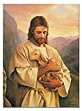 SmartWallArt - Religious Spiritual Beliefs Paintings Christian Jesus Goddess Virgin Mary Church RSB01P042 Pictures for Living Room Home Decor