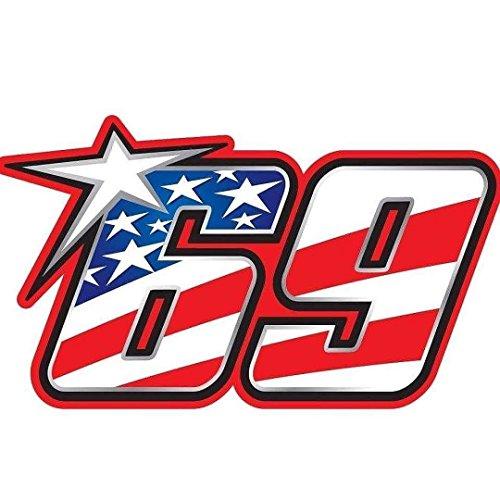 2pcs / Kentucky Kid Nicky Hayden #69 Version3 - 4