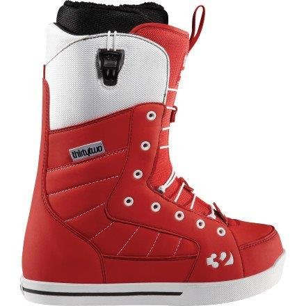 Thirtytwo Women's 86 FT Snowboard Boot Red Size 6.5 by thirtytwo