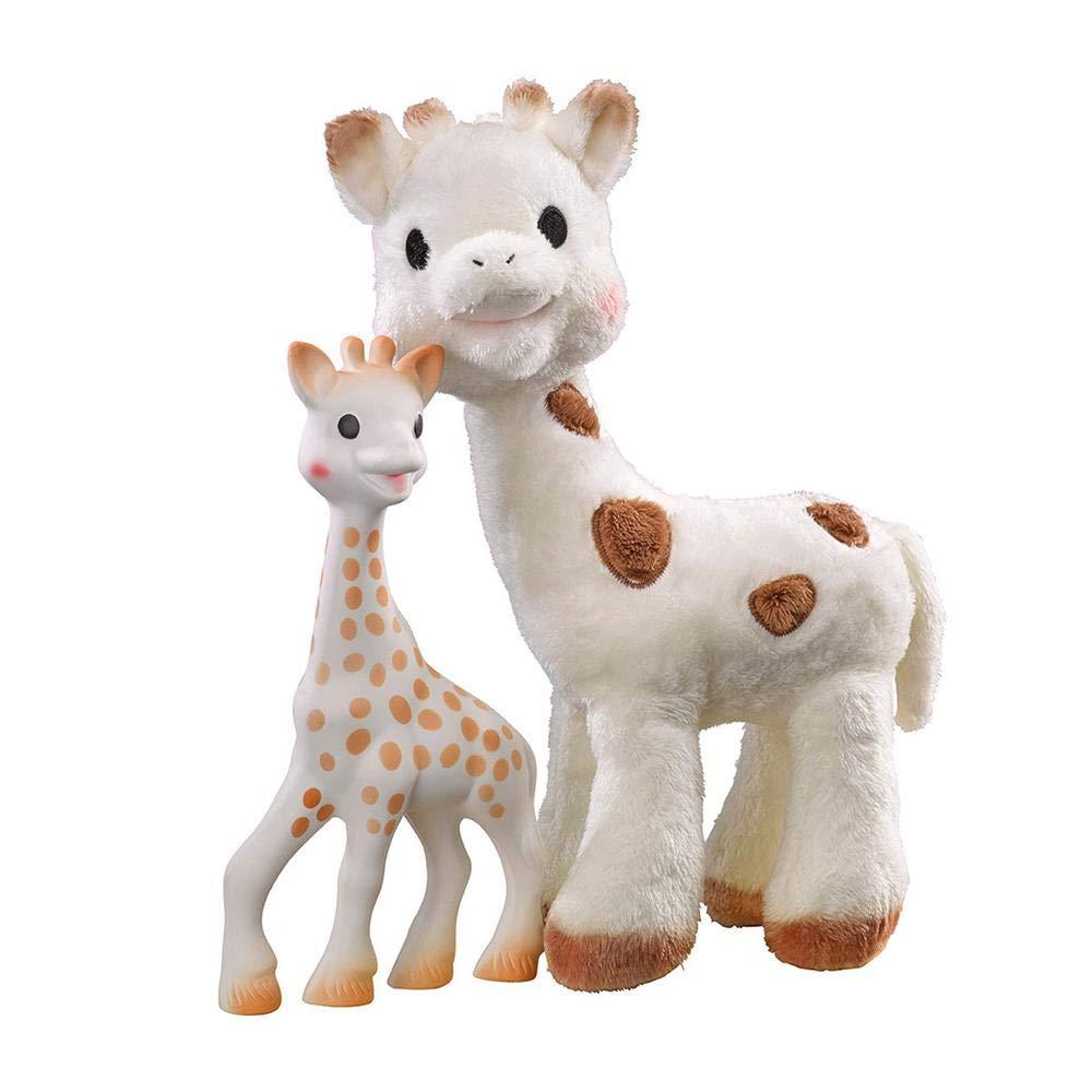Sophie la Girafe & Sophie Cherie Plush Set by Vulli