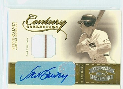 Steve Garvey AUTOGRAPH 2004 Donruss Insert Throwback Threads 39/50 San Diego Padres Certified - Padres Clubhouse