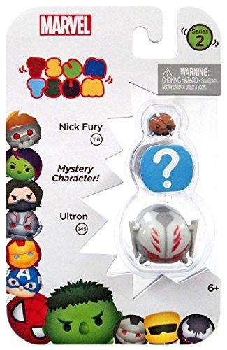 Tsum Tsum Marvel 3-Pack Ultron//Hidden//Nick Fury Toy Figure Jakks 05015