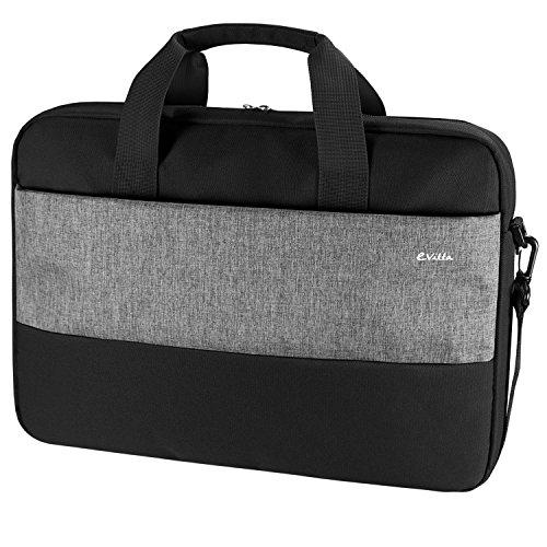 E-Vitta Master 16Briefcase Black, Grey–Ersatzteil Cases (40.6cm (16), Briefcase, Black, Grey, Monotonie, Dust Resistant, Scratch Resistant, 415mm)