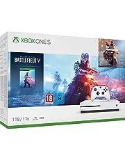 Xbox One S 1TB - Battlefield V Bundle (inkl. Battlefield V: Deluxe Edition, Battlefield 1: Revolution und Battlefield 1943)