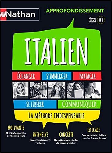 Amazon Fr Italien Coffret Approfondissement Anna